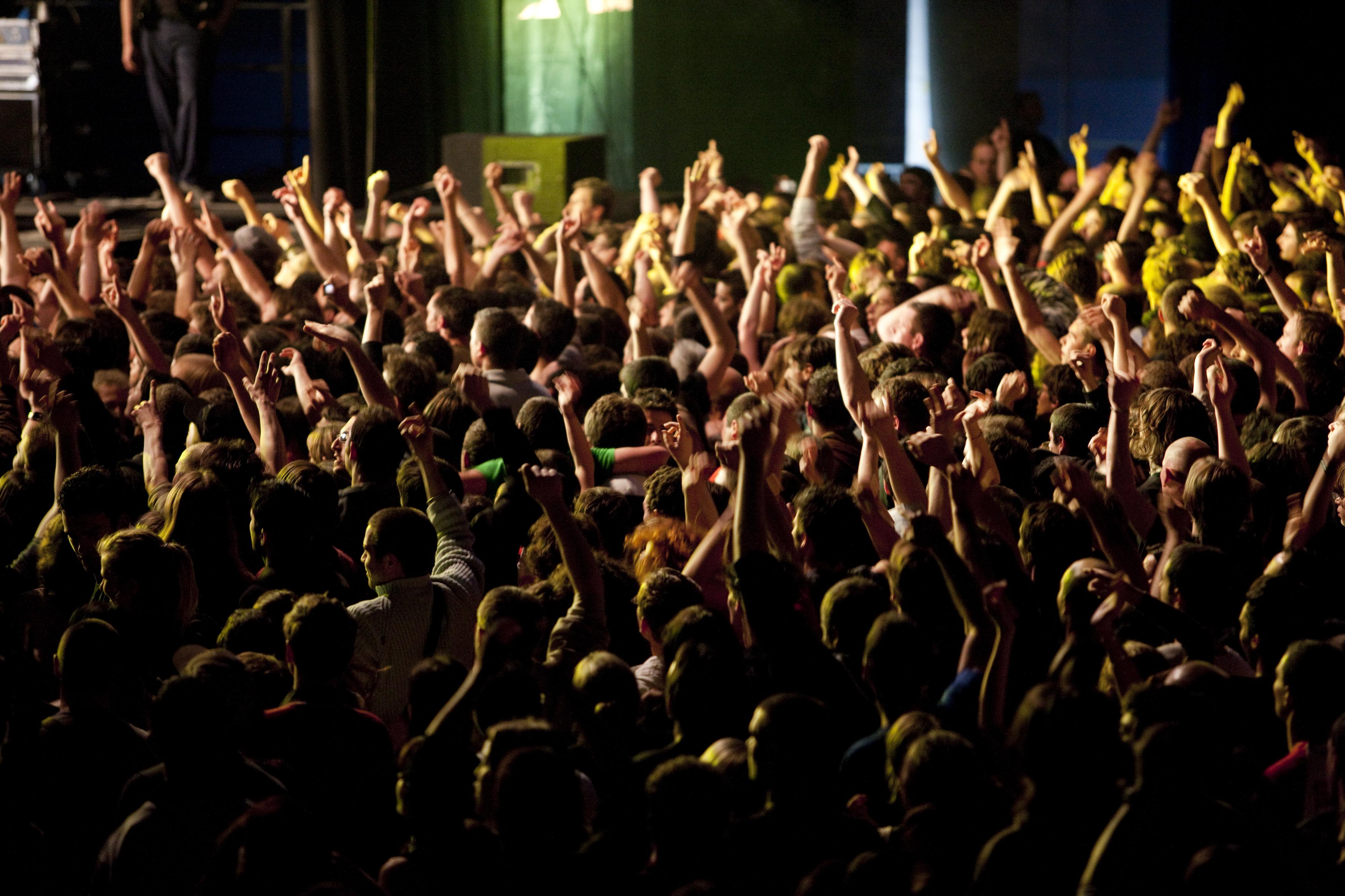 Public durant un concert