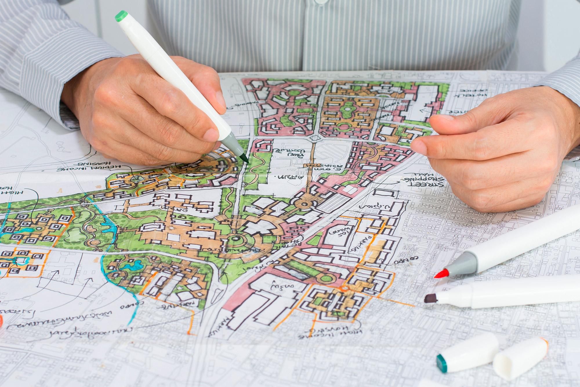 PLUi cartographie