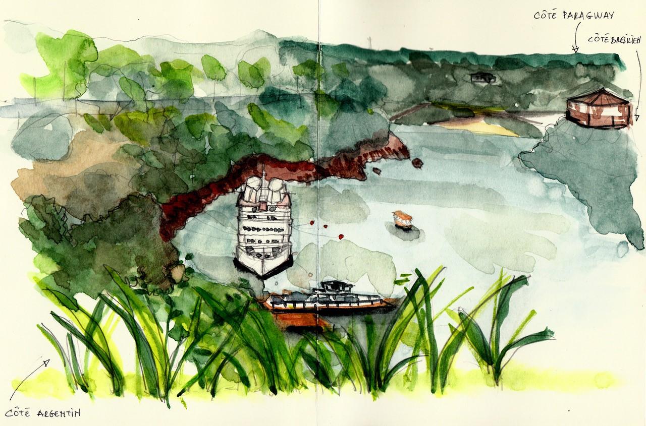 Anne Brisse voyage
